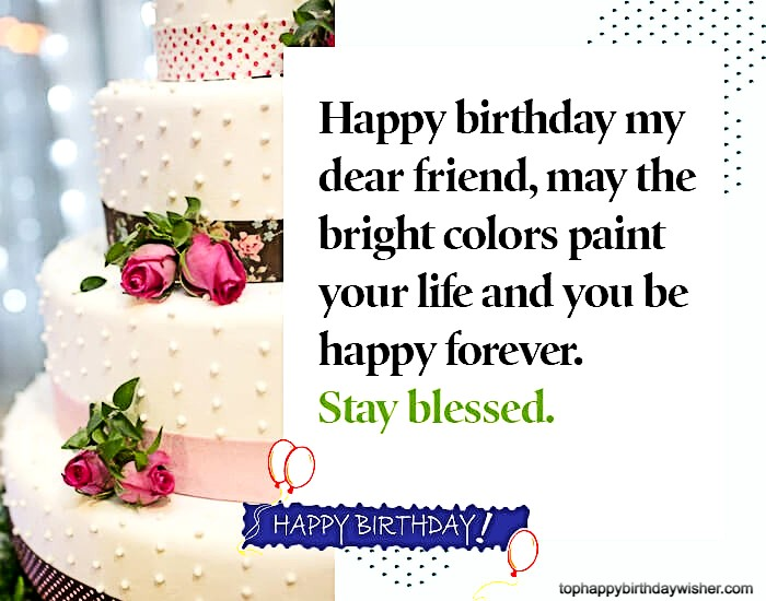 birthday wishes for well wisher