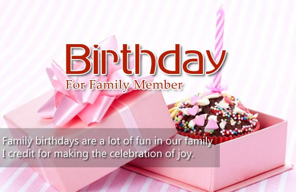 Best Birthday Wishes for Family