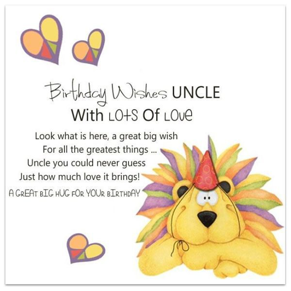 Unique Birthday Wishes for Uncle