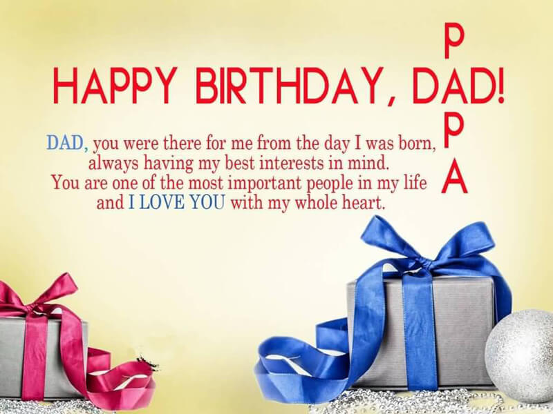 Unique Birthday Wishes for Father