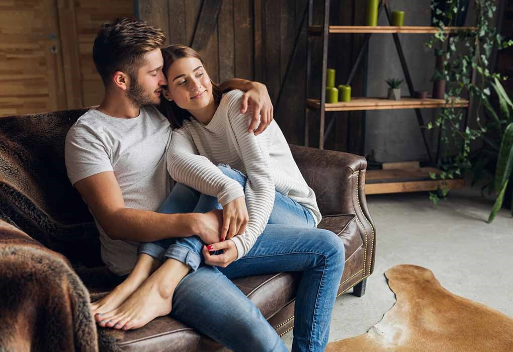 Sit on Lap of husband